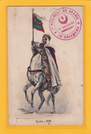 ALGERIE - MEDEA - Correspondance Du Cpt Commandant Le 1e Rgt De Spahis 10e Escd Au Capt 15e Rgt De Tirailleurs Algériens - Medea