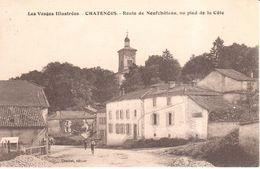 (88) Vosges - CPA - Chatenois - Route De Neufchâteau, Au Pied De La Côte - Chatenois
