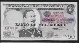 Mozambique - 50 Escudos - Pick N°116 - NEUF - Mozambique