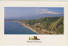 Panorama Di Taormina, Sicilia, Sicily, Italy, Used Postcard [21319] - Italy