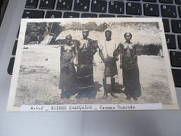 Cpa  Guinee Francaise Femmes Guerzes Seins Nus Nu - French Guinea