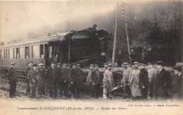 27 - EURE / Serquigny - 274094 - Catastrophe Ferroviaire -  Beau Cliché Animé - Serquigny