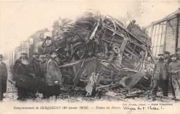 27 - EURE / Serquigny - 274098 - Catastrophe Ferroviaire -  Beau Cliché Animé - Serquigny