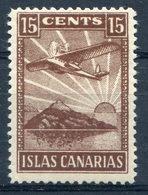 LOCALES    Islas  Canarias     Nº 3    Charnela -284 - Verschlussmarken Bürgerkrieg