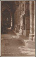 South Choir Aisle, Exeter Cathedral, Devon, C.1920 - Judges RP Postcard - Exeter