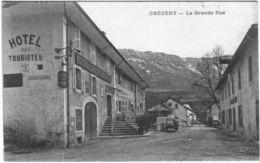Carte Postale Ancienne De CHEZERY-la Grande Rue - France