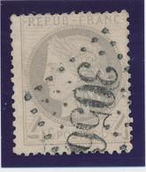 4 C Gris Jaunatre Obl GC 3056 (Le Quesnoy) TB. - 1871-1875 Ceres