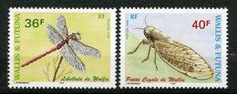 Wallis & Futuna, Yvert 521&522, Scott 512&513, MNH - Ongebruikt