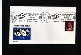 Spain / Spanien 1980 World Football Championship In Spain Interesting Cover - World Cup