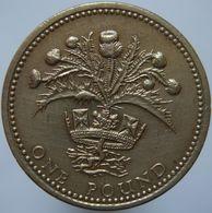 Great Britain 1 Pound 1984 VF - 1971-…: Dezimalwährungen