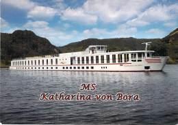 MS KATHARINA VON BORA ( Deutschland Allemagne ) BATEAU DE PROMENADE - Sightseeing Boat Ausflugsboot - CPM GF - - Autres