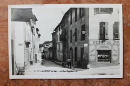 SAINT LAURENT DU VAR (06) - LA RUE DESJOBERT - Saint-Laurent-du-Var