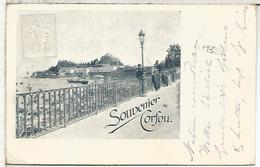 GRECIA 1901 ENTERO POSTAL STATIONARY CORFOU - Postal Stationery