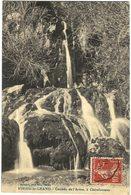 Carte Postale Ancienne De VIRIEU LE GRAND-Cascade De L'Arène à CLAIREFONTAINE - France