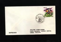 Brazil 1982 World Football Championship In Spain Interesting VARIG Flight Cover - World Cup