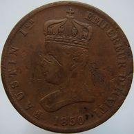 Haiti 6 1/4 Centimes 1850 VG / F - Haïti