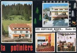 LES HOPITAUX NEUFS PATISSERIE SALON DE THE LA POTINIERE CPSM NEUVE - France