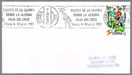 FIESTAS DE LA VIRGEN BLANCA 1981. Bajada De Celedon. Vitoria, Pais Vasco - Fiestas