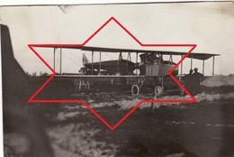 Photo 1915 Un Avion Allemand Ago C.II (C2), Avion D'observation Biplace à Hélice Propulsive, Aviation (A196, Ww1, Wk 1) - 1914-1918: 1st War