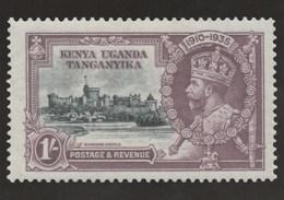 Postcard Depicting 1/- Kenya Uganda Tanganyika Stamp Card By Philangles Gb - Stamps (pictures)