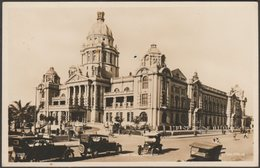 Town Hall, Durban, Natal, C.1920s - Valentine's RP Postcard - South Africa