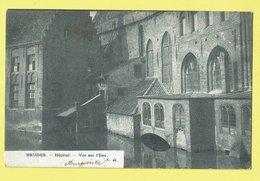 * Brugge - Bruges (West Vlaanderen) * (nr 40) Hopital, Clinique, Vue Sur L'eau, Canal, Quai, Reien, Old - Brugge