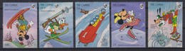 2195  WALT DISNEY   The GAMBIA  ( Winter Sports II ) - Disney