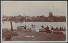 Shoreham From The Ferry, Sussex, 1912 - Winton's RP Postcard - England