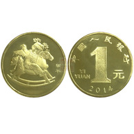 China 2014 Year New Year Of Horse Souvenir Coins Zodiac - China