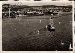 ! Ansichtskarte 1939, Schweizerische Landesausstellung, Zürich, Exhibition, Seilbahn - Ausstellungen