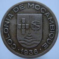 Mozambique 50 Centavos 1936 VF / XF - Mozambique