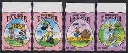2197  WALT DISNEY   The GAMBIA  ( EASTER II ) Mickey Mouse's - Disney