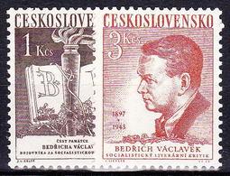** Tchécoslovaquie 1953 Mi 788-9 (Yv 694-5), (MNH) - Ungebraucht