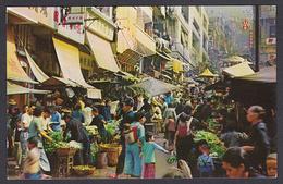 Hong Kong. West Point Open Air Market - China (Hong Kong)