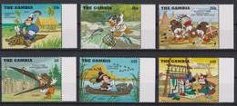 2199  WALT DISNEY   The GAMBIA  ( Cow-Boys & Indiens ) - Disney