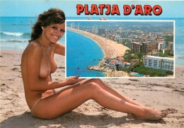 PLATJA D'ARO FEMME SEINS NUS - Spain
