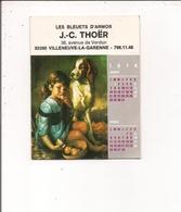 Petit Calendrier Jean Lavigne 6 Pages   PEINTURE - Les Bleuets D'Armor à  Villeneuve-la-Garenne  92 - Calendars