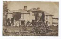Wales Postcard Broadway House Churchstoke Posted At Churchstoke - Montgomeryshire