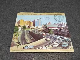 ANTIQUE POSTCARD COVER SOUTH AFRICA JOHANNESBURG CIRCULATED 1970 - South Africa