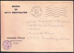 France Westhalten 1985 / Mairie De Westhalten - 1961-....