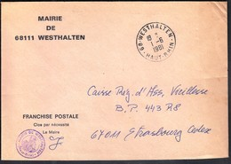France Westhalten 1981 / Mairie De Westhalten - 1961-....
