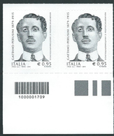 Italia 2015 ; Gaetano Perusini, Psichiatra. Coppia A Barre A Sinistra. - 6. 1946-.. Repubblica