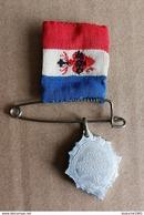 Religion Patriotisme - Ancienne Médaille Sacré Coeur De Jésus - Sauvez La France - Religion & Esotérisme