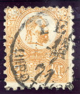 HUNGARY 1871 2 Kr. Lithographed, Used.  Michel 1a - Used Stamps