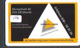 NEDERLAND CHIP TELEFOONKAART CRE 126 *  LANDELIJK BUREAU VROUWENVAK  * Telecarte A PUCE PAYS-BAS * ONGEBRUIKT MINT - Nederland