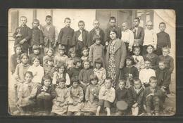 BULGARIA  - CHILDREN  -  VINTAGE POST CARD ORIGINAL PHOTO - D 2256 - Unclassified