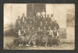 BULGARIA  - CHILDREN  -  VINTAGE POST CARD ORIGINAL PHOTO - D 2257 - Unclassified