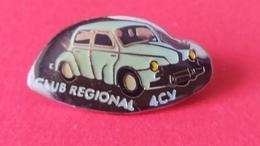 Pin's   RENAULT  4 CV - Renault