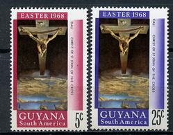1967 - GUYANA - Mi. Nr. 316/317 - NH - (CW4755.10) - Guiana (1966-...)