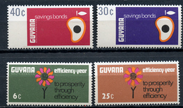 1967 - GUYANA - Mi. Nr. 318/321 - NH - (CW4755.10) - Guiana (1966-...)